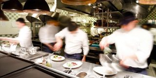 The most common work accidents in hospitality