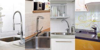What types of kitchen sinks are available nowadays?
